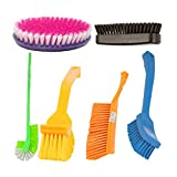 #9: Indo Combo of Bathroom Brush Set 6 pcs