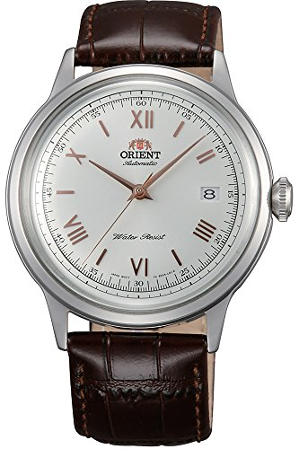 Orient Herren Analog Automatik Uhr mit Leder Armband FAC00008W0