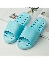 YMFIE Badezimmer Damenschuhe rutschfeste Dusche Sandalen home Soft Schaum Zwischensohle Schwimmbad Schuhe, 42, k