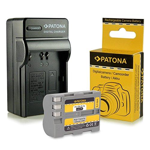 Galleria fotografica Caricabatteria + Batteria EN-EL3E per Nikon D50 | D70s | D80 | D90 | D200 | D300 | D300S | D700