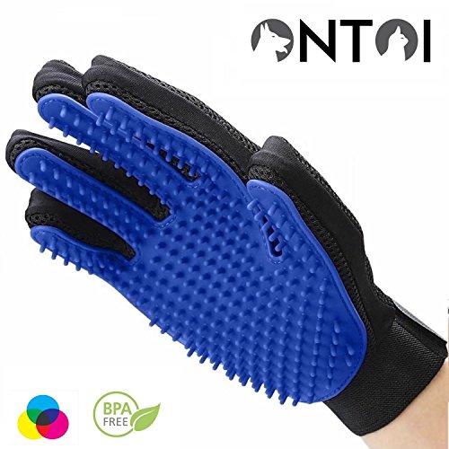 Ontoi | Professioneller Tierhaar Handschuh zur Entfernung Loser Tierhaare | Langhaar & Kurzhaar