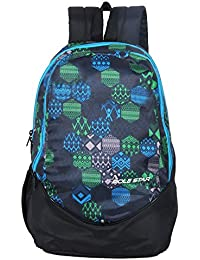 POLE STAR Polyester 30Liters Black School Backpack