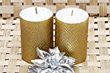 #3: Maxime Pure Comfort - Set of 2 Decorative Candles - GOLDEN