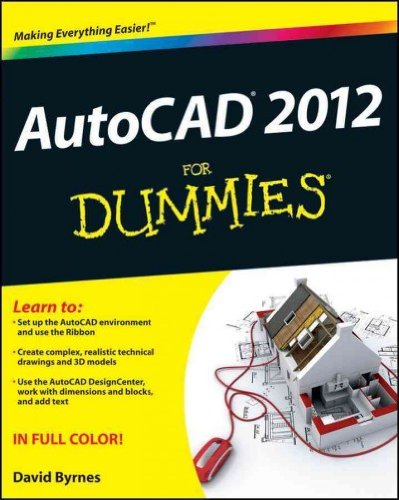 AutoCAD 2012 for Dummies (For Dummies (Computers)) Byrnes, David ( Author ) May-10-2011 Paperback