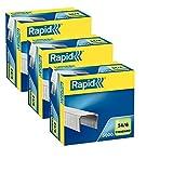 Rapid Heftklammer 24/6mm Standard, verzinkt, 15000Stück