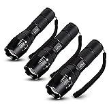 HIILIGHT 3xLED Taschenlampe 2000 CREE XM-L T6 schwarz