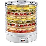 Concept Electrodomésticos SO-1020 Deshidratador de alimentos, con 9 bandejas de abastecimiento, temperatura