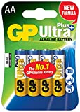 GP Ultra Plus Alkaline-Mignon AA-Batterien,...