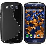 mumbi S-TPU Silikon Schutzhülle Samsung Galaxy S3 / S3 Neo Hülle schwarz