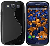 mumbi Custodia in S-TPU compatibile con Samsung Galaxy S3/S3 Neo, nero