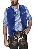 Stockerpoint Herren Trachtenweste Weste Ricardo Blau (Royale), XX-Large (Herstellergröße: 56)