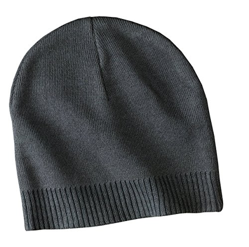 Port Authority Cotton Beanie Cap CP95 - Graphite CP95 (Authority Port Beanie)