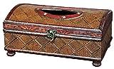 Vintiquewise Antik Stil Taschentuchbox aus Holz, Antique Cherry