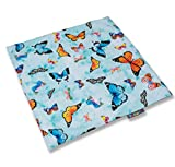 Thermal Patch. Sit Mat. 60cm x 60cm. Butterflies print.