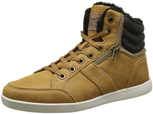 kappa-linwood-sneakers-basses-femme-marron-907-tan-blck-old-gold-40-eu