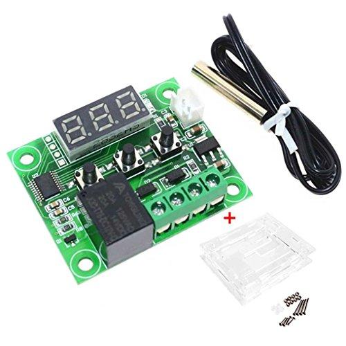 Windy5 W1209 12V DC-Digital-LCD -50-110 ℃ Bereich Thermostat Temperaturregelung Schalter Sensor Modul mit Gehäusen -