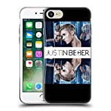 Official Justin Bieber Mirrored Purpose Soft Gel Case for Apple iPhone 7 / iPhone 8
