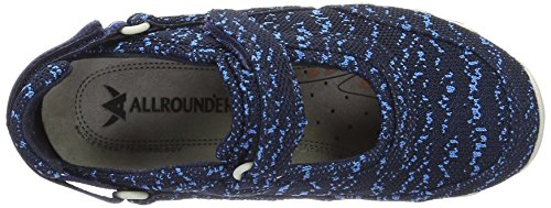 Allrounder by Mephisto Niro, Baskets Basses Femme Bleu (indaco)