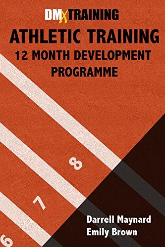 Track Athletics Training Log Book: 12-Month Development Programme (English Edition) por Darrell Maynard