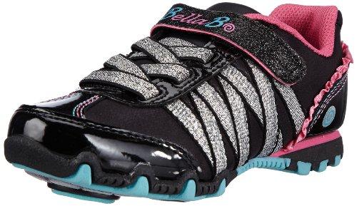 Skechers PrimaTwirlie Girl 82043L, Mädchen Sneaker, Schwarz (BKMT), EU 33