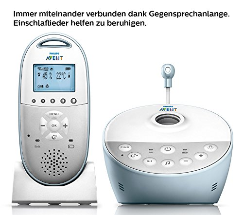 Philips Avent SCD580/00 Babyphone, weiß - 5