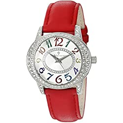 Christian Van Sant Damen cv8415 Jazz Armbanduhr Analog Display rot Quarz