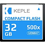 CF 32 GB Compact Flash Scheda di Memoria 500x Velocità fino a 75 MB/s, R 98 MB/s W 46 MB/s UDMA 7 Compatibile con Nikon D5, D4, D800, D810, D700, D300; Canon 5d, Mark II, III, IV; 7d, Mark II