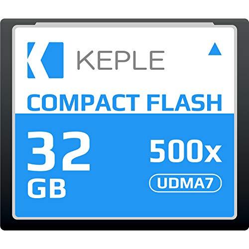 CF 32 GB Tarjeta Memoria Compact Flash 500x