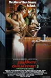 Nightmare On Elm Street 2 Poster 01 A3 Box Canvas Print