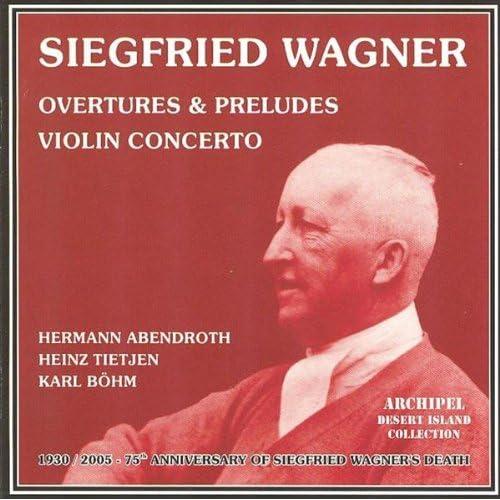 Siegfried Wagner : Overtures & Preludes - Violin Concerto