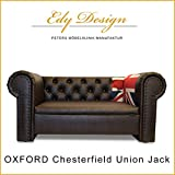 Canapé pour chien Dog Bed Oxford Chesterfield Union Jack XXL design vintage fabriqué à la main