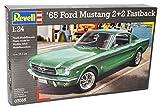 Revell Ford Mustang Coupe Fastback 2+2 1965 07065 Bausatz Kit 1/24 Modell Auto mit individiuellem Wunschkennzeichen