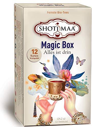 Magic Box – Shoti Maa Tee Bio 6 Packungen à 12 Teebeutel