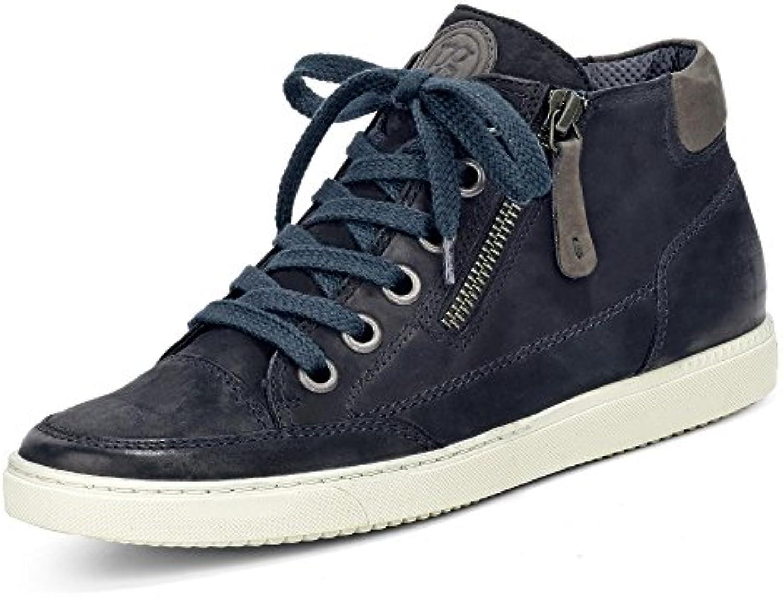 Paul Green 4242-513 Damen Sneaker Leder Reißverschluss Lederinnenausstattung