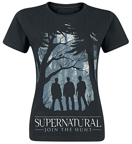 Supernatural Women's Group Outline W T-Shirt