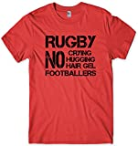 Daytripper pour Homme Funny Rugby Slogan T-Shirt 6 Nations - Rouge - Small