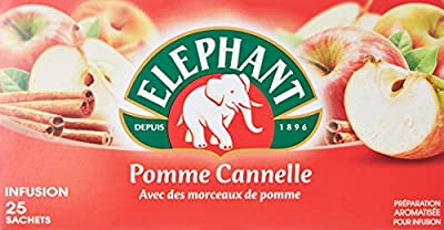 Elephant Infusion Pomme Cannelle 25 Sachets 55 g
