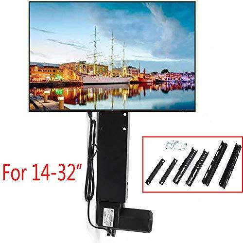 MOMOJA TV Supporto per ascensore Supporto televisivo per televisore al plasma automatico LCD motorizzato Nero 500mm