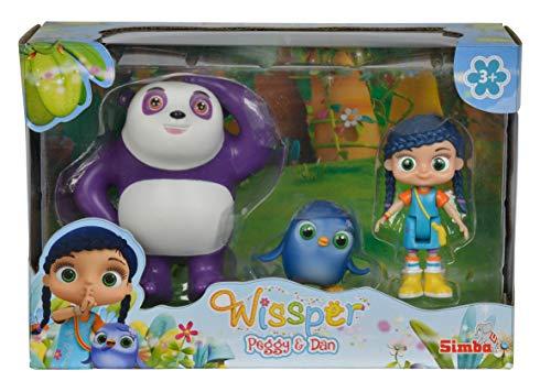 Wissper - Set de 3 Figuras, Peggy y Dan (Simba 9358416)