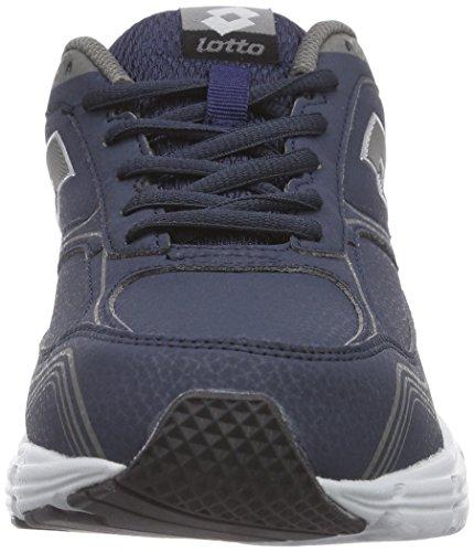 Lotto Antares Vii Nu, Chaussures de course homme Multicolore - Mehrfarbig (AVIATOR/TITAN G)
