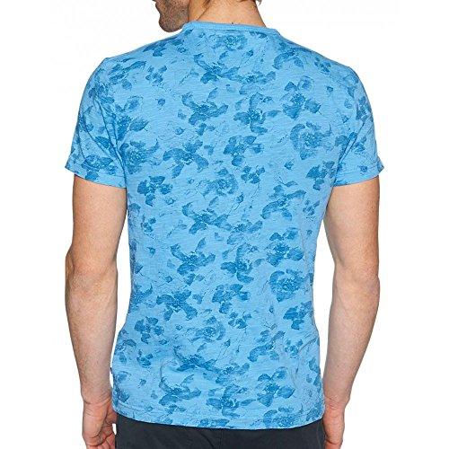 Tom Tailor Herren T-Shirt Blau - Blau