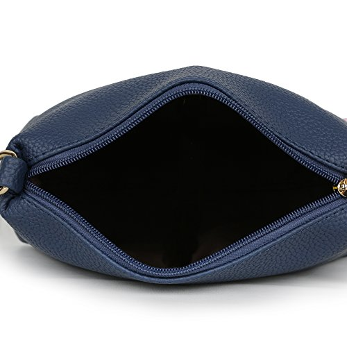 Butterflies Women Sling Bag (Blue) (BNS-B-2038#BL)