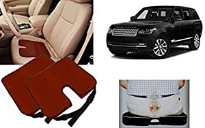 Auto Pearl - Premium Quality Car Seat Rest Cushion Cola Set of 2Pcs For - Land Rover Range Rover