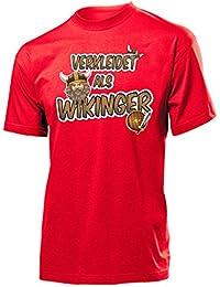 KARNEVAL - FASCHING - VERKLEIDET ALS WIKINGER T-Shirt Herren S-XXL