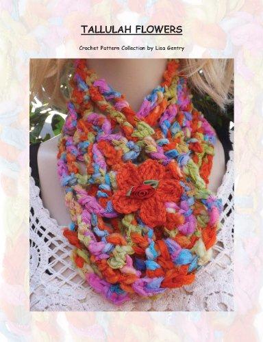 Tallulah Flowers Crochet Pattern 157 For Neck Warmer Ebook Lisa