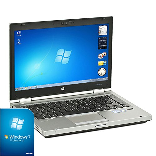 HP Elitebook 8470p Laptop (Core i5, 8GB RAM, 35,6cm / 14 Zoll 1600x900, Windows 7) (256GB - Refurbished Hp-laptop-computer