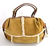 UGG AUSTRALIA WOMAN SHOULDER BAG BROWN SUEDE CODE ZS001 UNICA - ONE SIZE MARRONE - BR...