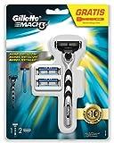 Gillette - Mach3maquinilla para hombre + 2recambios