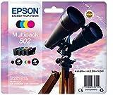 Epson Multipack 4-farbig 502 Ink Tintenpatrone, Tintenpatrone, Schwarz, Cyan, Magenta, Gelb, Epson, C13T02V64020, Tintenstrahldrucker, Standardausgabe, 4,6 ml