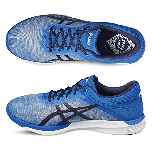 Asics Fuzex Rush, Chaussures de Course Homme bleu/blanc